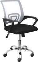 Кресло офисное AksHome Ricci (серый/черный) -
