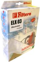 Комплект пылесборников для пылесоса Filtero Экстра ELX 03 (4шт) -