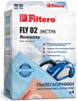 Комплект пылесборников для пылесоса Filtero Экстра FLY 02 (4шт) -