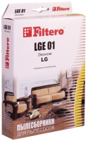 Комплект пылесборников для пылесоса Filtero Эконом LGE 01 (4шт) -