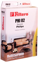 Комплект пылесборников для пылесоса Filtero Эконом PHI 02 (3шт) -
