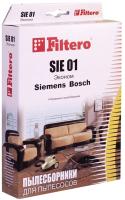 Комплект пылесборников для пылесоса Filtero Эконом SIE 01 (4шт) -
