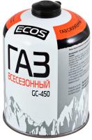 Газовый баллон туристический ECOS GC-450 / 140541 -