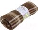 Плед Belezza Scotland 036 140x200 (флис, шоколад/экрю) -