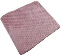 Плед Belezza Valira 140x200 (шоколадный/розовый) -