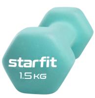 Гантель Starfit DB-201 (1.5кг, мятный) -