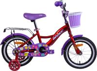 Детский велосипед AIST Lilo 2021 (14, красный) -