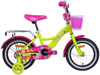Детский велосипед AIST Lilo 2021 (14, желтый) -