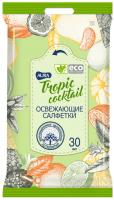 Влажные салфетки Aura Tropic Coctail (30шт) -