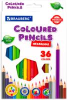 Набор цветных карандашей Brauberg Premium / 181659 (36цв) -