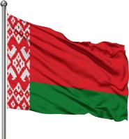 Флаг Флаг Республики Беларусь / ФО021 (50x100см) -