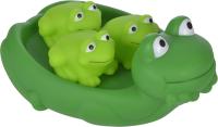 Набор игрушек для ванной Жирафики Мама лягушка и лягушата 68857 -