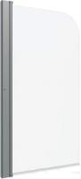 Стеклянная шторка для ванны Triton Соло 75x140 (прозрачное стекло) -