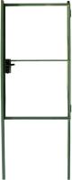 Калитка КомфортПром 1400x1000 / 11020114 (зеленый, 2 столба) -