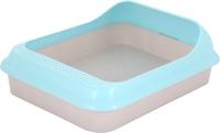Туалет-лоток Альтернатива Мур-мяу / М7847 (голубой) -