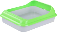Туалет-лоток Альтернатива Барсик / М6931 (зеленый) -