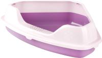 Туалет-лоток Альтернатива Феликс / М6966 (фиолетовый) -