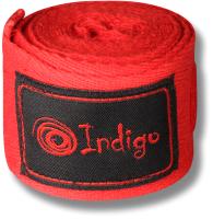 Боксерские бинты Indigo 1115 (4м, красный) -