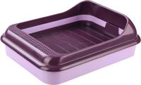 Туалет-лоток Альтернатива Верный друг / М6416 (светло-фиолетовый) -