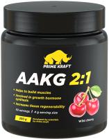 Аминокислоты Prime Kraft AAKG 2:1 (200г, банка, дикая вишня) -