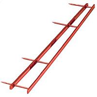 Полоски для переплета GBC Velobinder ACCO / 9741640 (25шт, красный) -