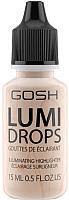 Хайлайтер GOSH Copenhagen Lumi Drops флюид 002 Vanilla (15мл) -