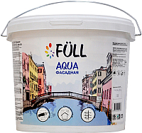 Краска Full Aqua фасадная (2.5л, белый матовый) -