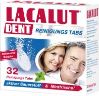 Таблетки для чистки зубных протезов Lacalut Dent (32шт) -