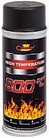 Краска Champion Color High Temparature RAL 9011 (400мл, черный) -