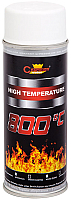 Краска Champion Color High Temparature RAL 9003 (400мл, белый) -