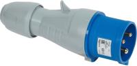 Вилка силовая Legrand 2Р+Е IP44 32А 230V / 90107 -