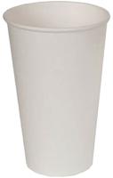 Набор бумажных стаканов Krafteco Белый (50x500мл) -