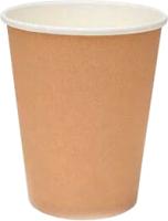 Набор бумажных стаканов Krafteco Крафт (50x250мл) -
