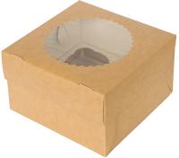 Набор коробок упаковочных для еды Krafteco Eco Muf 1 (25шт) -