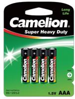 Комплект батареек Camelion R 03 BL-4 / R03P-BP4G (1.5В) -