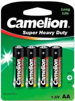 Комплект батареек Camelion R 6 BL-4 / R6P-BP4G (1.5В) -