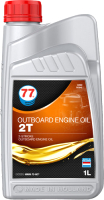 Моторное масло 77 Lubricants Outboard Engine Oil 2T / 707845 (1л) -