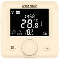 Терморегулятор для теплого пола Grand Meyer Mondial Series W330 Wi-Fi (бежевый) -