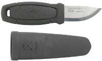 Нож туристический Morakniv Eldris LightDuty / 13843 (темно-серый) -
