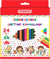 Набор цветных карандашей Пифагор Эники-Беники / 181348 (24шт) -