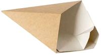 Набор коробок упаковочных для еды Krafteco Eco Cone L  (40шт) -