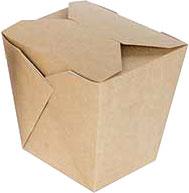 Набор коробок упаковочных для еды Krafteco Eco Noodles 460 (35шт) -