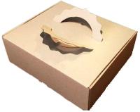 Набор коробок упаковочных для еды Krafteco Крафт Дo Box (10шт) -