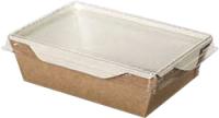 Набор коробок упаковочных для еды Krafteco Eco OpSalad 350 (50шт) -