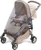 Москитная сетка для коляски Bambola Прогулка 036В (серый) -