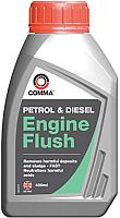 Присадка Comma Промывка для бензинового и дизельного двигателя / EF400M (400мл) -