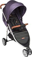 Детская прогулочная коляска Happy Baby Ultima V2 (фиолетовый) -