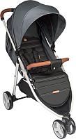 Детская прогулочная коляска Happy Baby Ultima V2 (серый) -