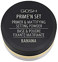 Основа под макияж GOSH Copenhagen Prime`n Set Powder 002 Banana (7г) -
