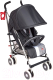 Детская прогулочная коляска Happy Baby Cindy (темно-серый) -